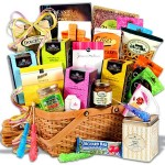 Tea & Cookies Gift Basket Premium