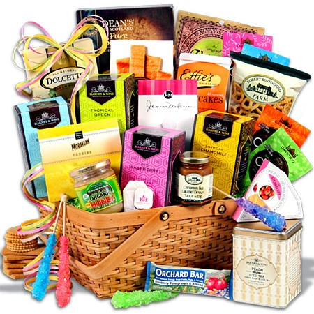 Tea Cookies Gift Basket Premium C W Directc Direct